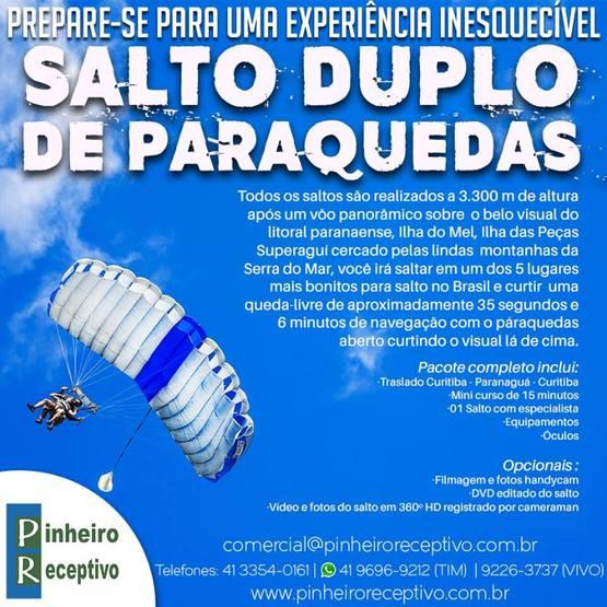 Paraquedismo Venha viver essa experiência